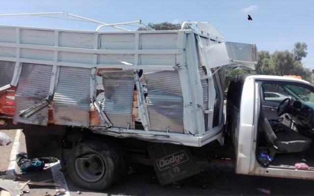 Choque de camioneta con camión en Puebla deja 10 migrantes lesionados - migrantes puebla lesionados accidente automovilístico