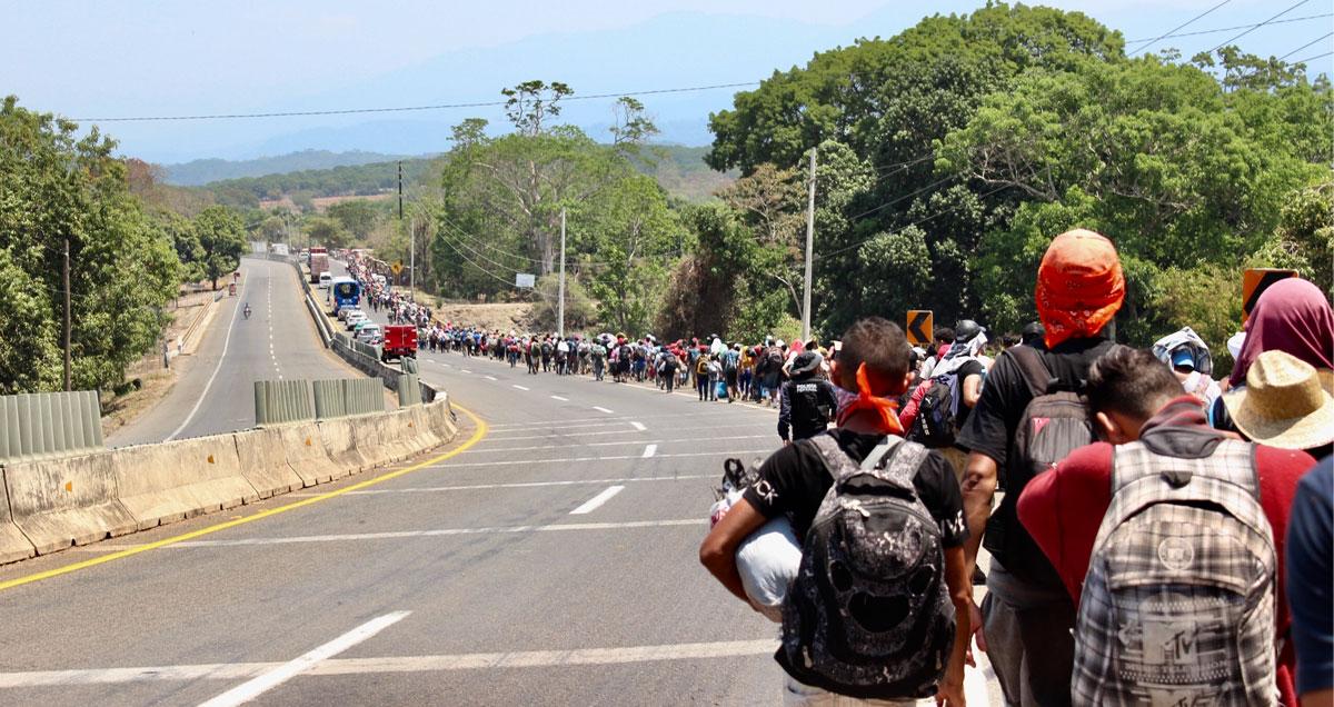 Bloquean cuentas de presuntos traficantes de migrantes