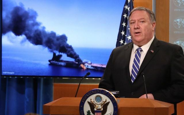 "Estados Unidos acusa a Irán de los ""ataques"" a buques en golfo de Omán - Foto de AFP"