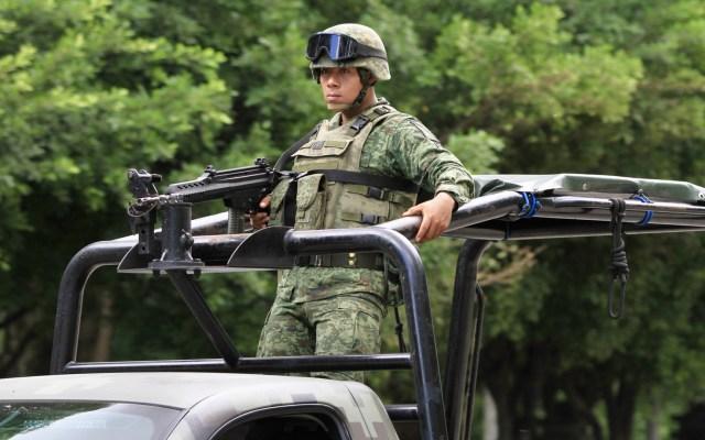 Emboscada deja al menos dos militares muertos en Guerrero - Militares. Foto de Notimex