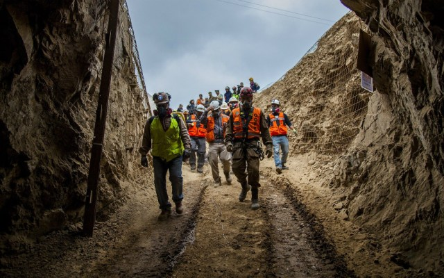 Chile confirma muerte de un minero boliviano y rescate con vida de otro - Foto de EFE