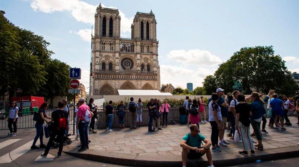 Notre-Dame celebrará primera misa tras incendio - misa notre-dame