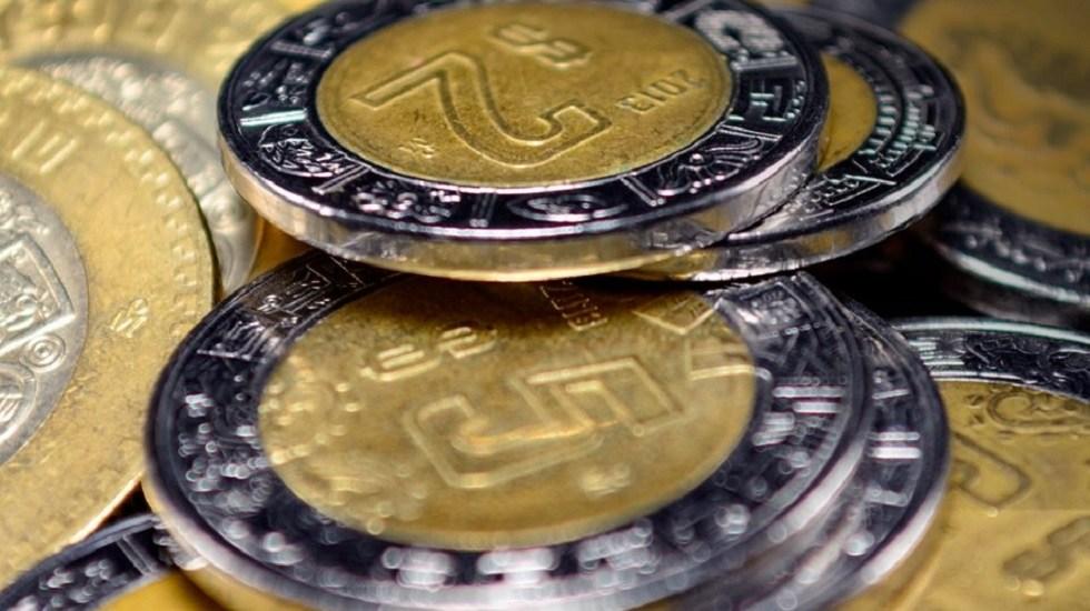 Peso se deprecia y toca su nivel más bajo en dos meses - Monedas mexicanas. Foto de @BanxicoOficial