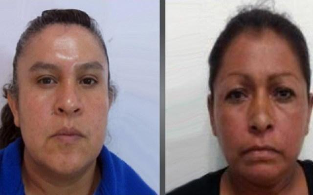 Dan hasta 50 años de cárcel a secuestradoras en el Estado de México - Mujeres sentenciada por secuestro en Texcoco. Foto de @FiscalEdomex