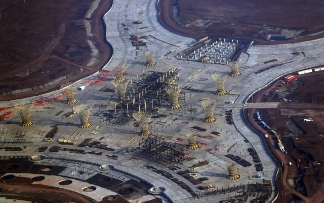 Liquidan contrato para edificio terminal del aeropuerto de Texcoco - NAIM Texcoco Aeropuerto obra