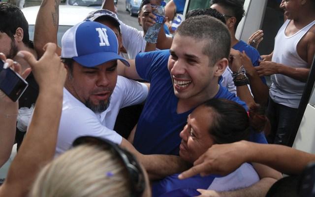 Liberan a los dirigentes de las protestas contra Ortega en Nicaragua - Foto de AFP