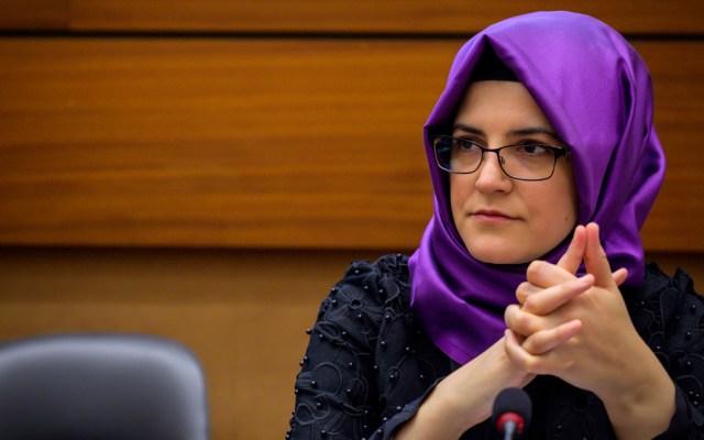 Novia de Khashoggi exige investigación internacional del homicidio - novia khashoggi