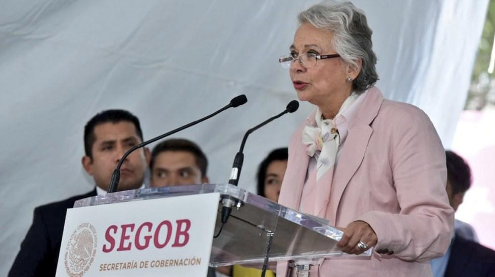 Aclara SEGOB supuesta intención de diálogo con bandas del crimen organizado - Foto de Twitter Secretaría de Gobernación