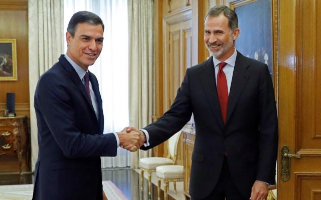 Pedro Sánchez recibe encargo del rey de España de formar un nuevo gobierno - Foto de AFP