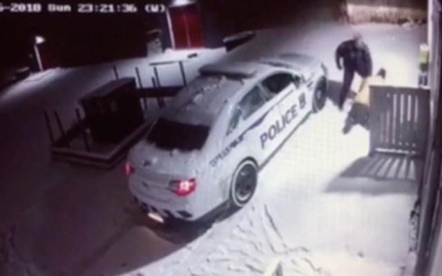 #Video Hallan culpable a policía por agredir a indigente en Canadá - Policía Canadá golpea hombre