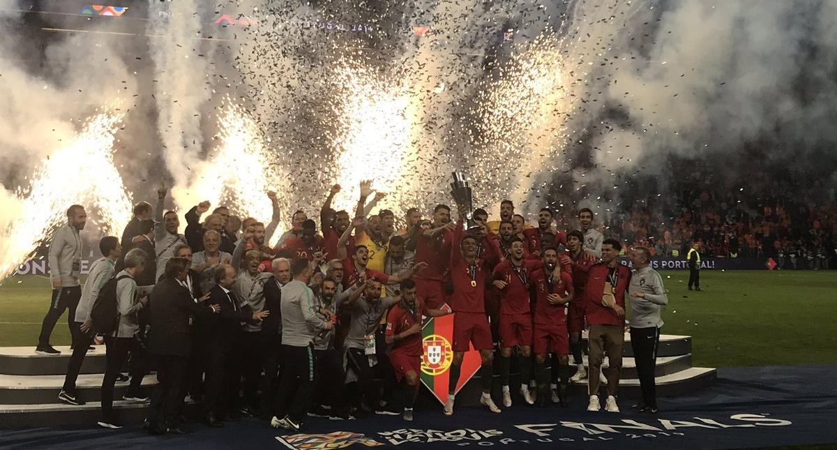 Portugal Campeón Liga de Naciones