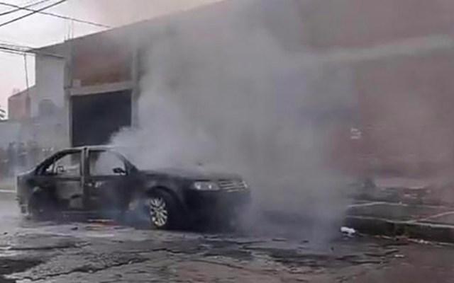 Comando armado asalta sucursal bancaria en Morelia - robo