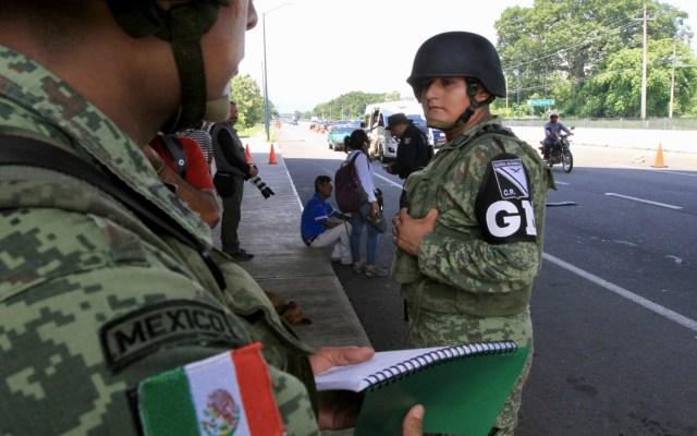 Publican el reglamento de la Guardia Nacional - Foto de Notimex/Javier Lira
