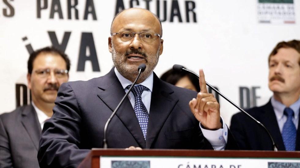 Juárez Cisneros se mantendrá al margen de proceso interno del PRI - René Juárez Cisneros PRI