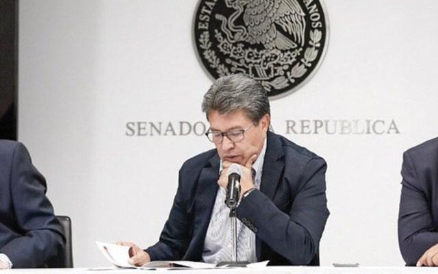 Senado no avalará ampliación de mandato en Baja California: Monreal - Foto de Twitter Ricardo Monreal