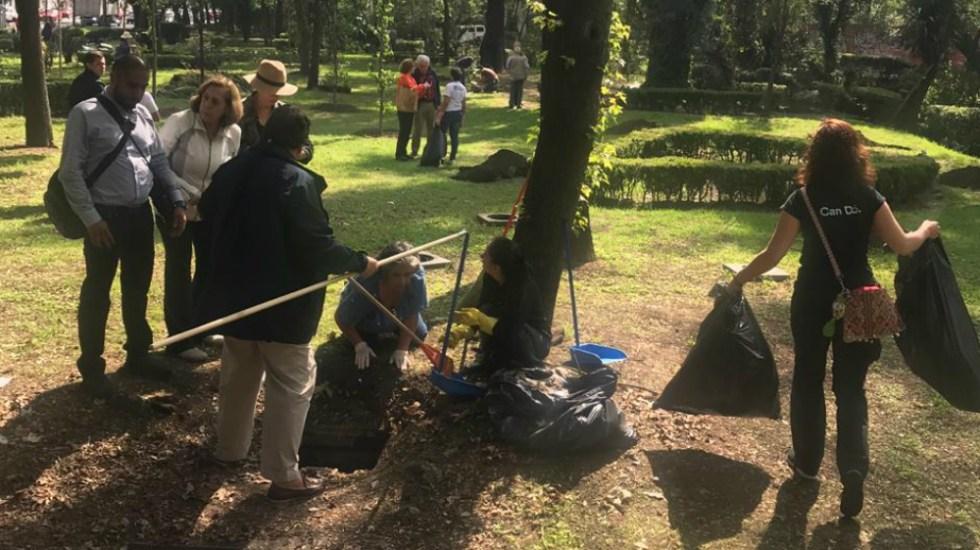 Realizan ciudadanos jornada de limpieza en el río Magdalena
