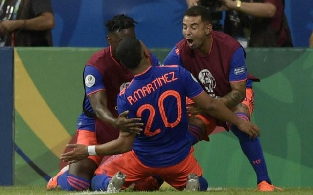 Colombia sorprende a Argentina en su debut en la Copa América 2019 - Foto de AFP
