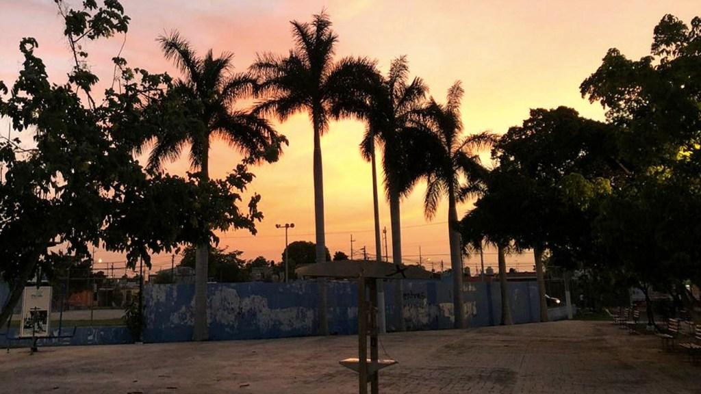 Efectos de polvo del Sahara se percibirán hasta el jueves en Yucatán - Sahara Yucatán polvo nube