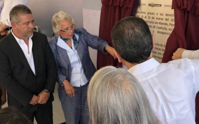 Ofrecen disculpa pública por la masacre de Allende, Coahuila - Foto de @SEGOB_mx