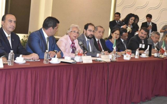 Sánchez Cordero realiza Mesa para la Gobernabilidad de México - Foto de Segob