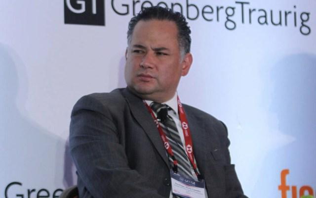Santiago Nieto analiza casos de corrupción con el titular de SCT - Santiago Nieto UIF