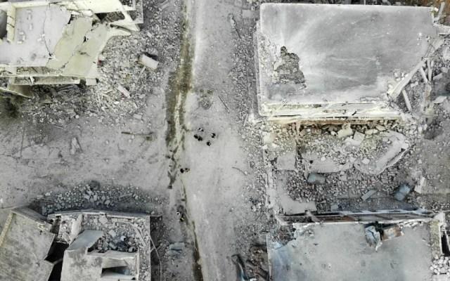ONU pide a Rusia explicaciones por hospitales bombardeados en Siria - Foto de AFP