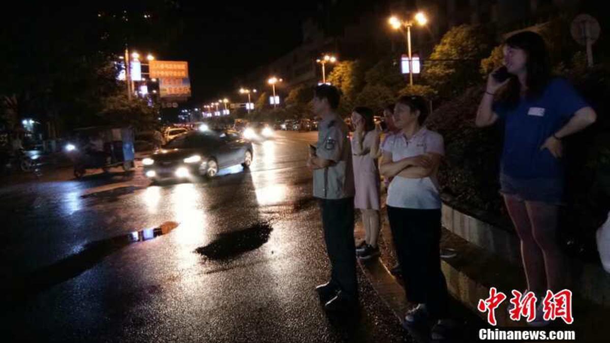 Al menos 31 lesionados por sismo de magnitud 5.4 en China