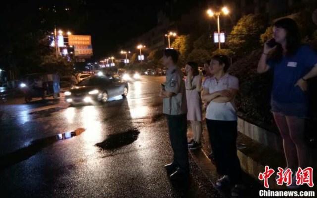 Sismo en China deja 31 personas lesionadas - sismo china lesionados