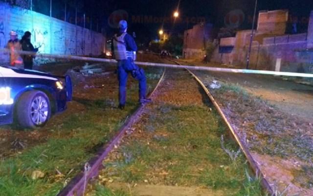 Asesinan a hombre y le prenden fuego al cadáver en Morelia - Sitio donde el cadáver de un hombre estaba en llamas. Foto de RED113