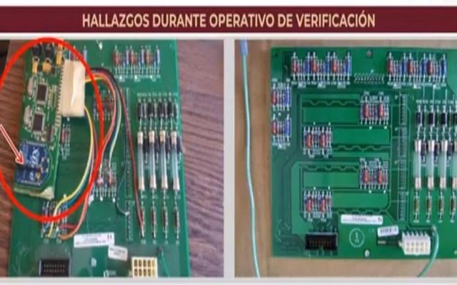 Profeco detecta software 'pirata' en gasolineras - Software 'pirata' en gasolinera. Captura de pantalla