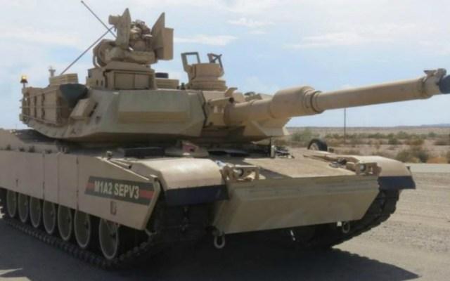 China exhorta a EE.UU. a dejar de vender armas a Taiwán - Tanque Abrams M1A2. Foto de internet