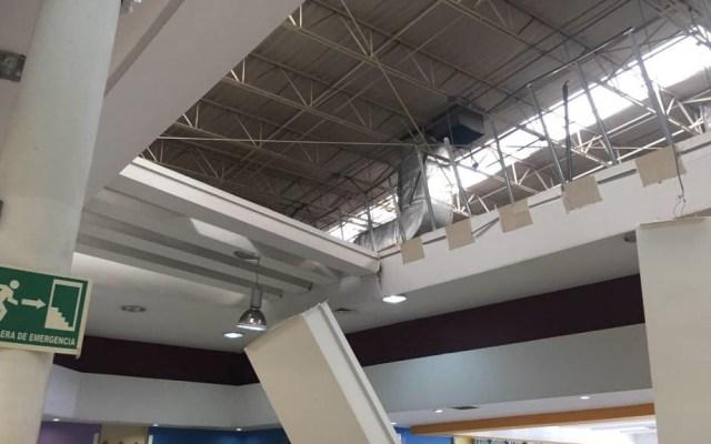 Cae techo en supermercado de Tijuana - Foto de El Heraldo de México