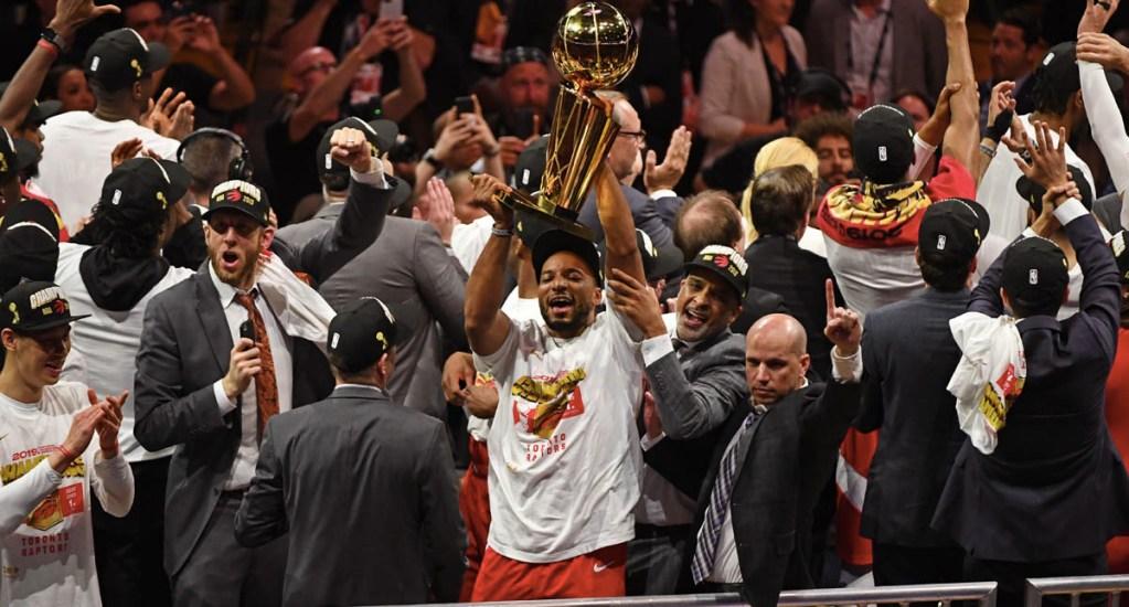 Toronto gana su primer campeonato en la NBA - Toronto Raptors