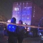 Conductor de torton impacta patrulla y asesina a policía en Ecatepec