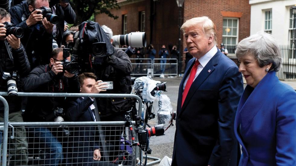 Trump asegura extraordinario acuerdo con Reino Unido tras el Brexit - Foto de AFP