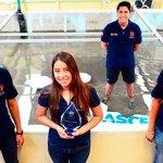Estudiantes de la UNAM ganan concurso de ingeniería civil en EE.UU. - Foto de @UNAM_MX