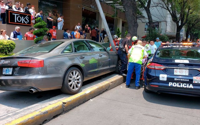 Piden justicia para atropellados por vehículo de la embajada de Guatemala - vehículo embajada de guatemala