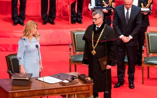 Zuzana Caputová jura como primera presidenta de Eslovaquia - Zuzana Caputová jura como primera presidenta de Eslovaquia