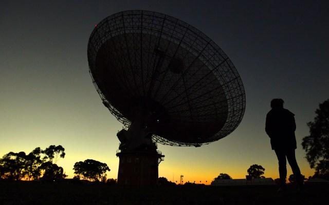 Australia hizo posible que el mundo viera a Neil Armstrong caminar en la Luna - EFE/EPA/MICK TSIKAS