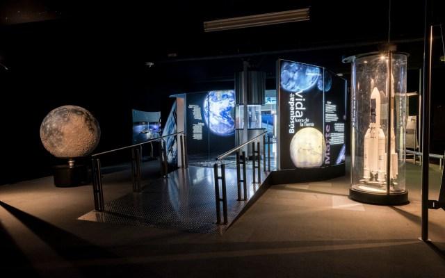 El lugar donde los chilangos pueden tocar la Luna - Foto de Universum.