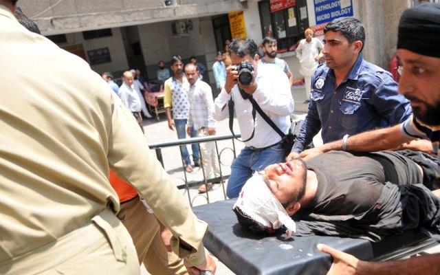 Accidente de autobús en norte de la India deja 35 muertos - Accidente autobús India