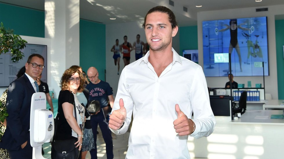 Juventus confirma la llegada de Adrien Rabiot - Adrien Rabiot