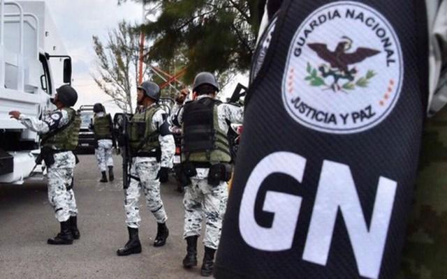 CNDH promueve ante SCJN cuatro acciones de inconstitucionalidad por GN - Agentes de la GN. Foto de @CNDH