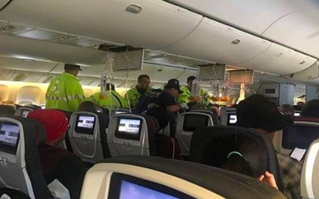 Turbulencia en vuelo de Air Canada dejó 37 personas heridas - air canada