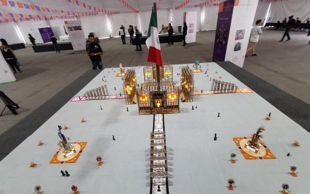 Estas son las 6 propuestas de ofrenda monumental del Día de Muertos en el Zócalo