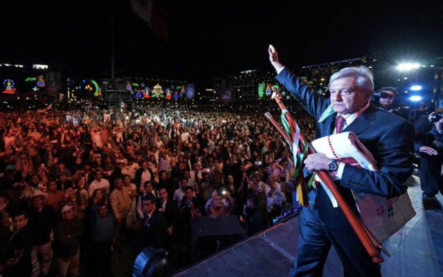 Sonora Santanera amenizará evento de López Obrador en el Zócalo - AMLO Andrés Manuel López Obrador Zócalo 1 diciembre 2018 3