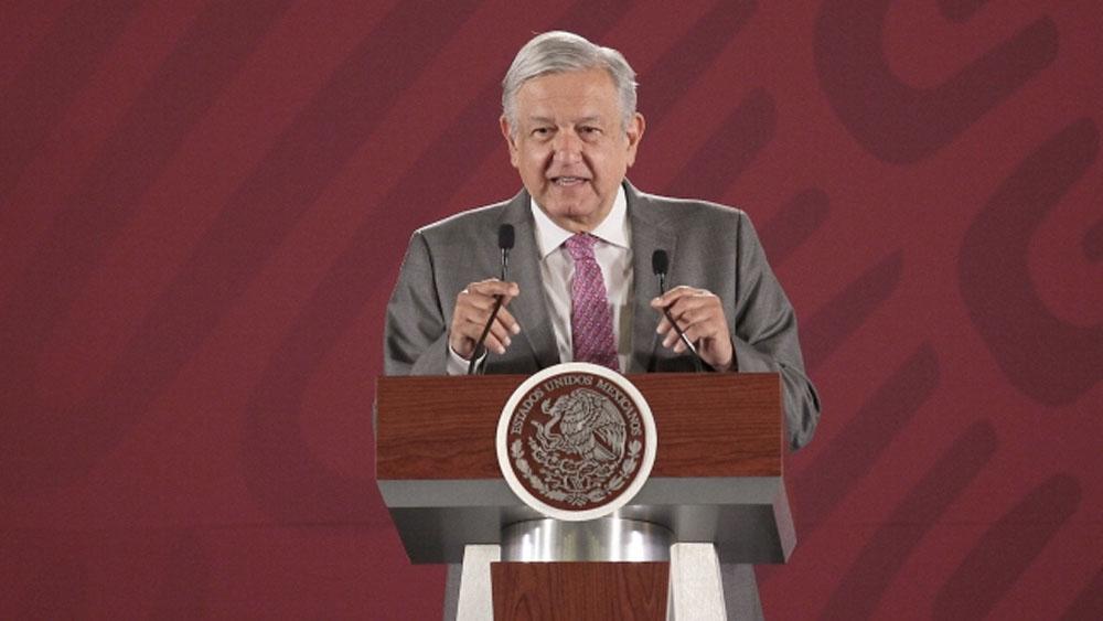 Se está desmantelando un régimen corrupto: López Obrador - amlo conferencia