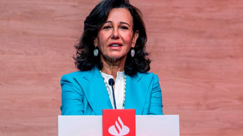 Banco Santander aprueba ampliación de capital para recomprar filial mexicana - Ana Patricia Botín, presidenta de Banco Santander. Foto de EFE/Banco Santander