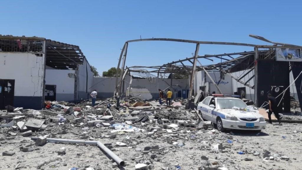 Consejo de Seguridad condena ataque a centro de detención de migrantes en Libia - ataque centro de detención de migrantes libia consejo de seguridad (1)