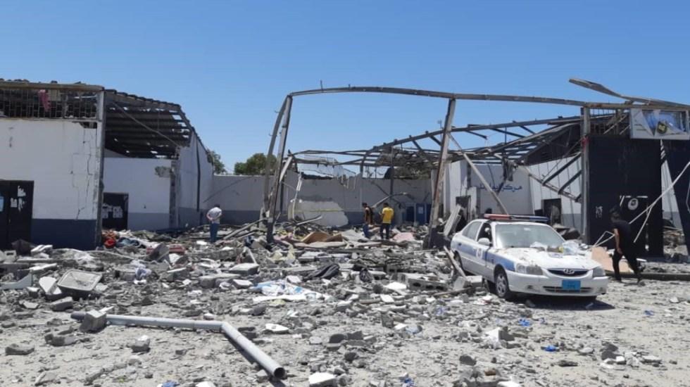 Divisiones internacionales impiden la paz: enviado de ONU a Libia - ataque centro de detención de migrantes libia consejo de seguridad (1)